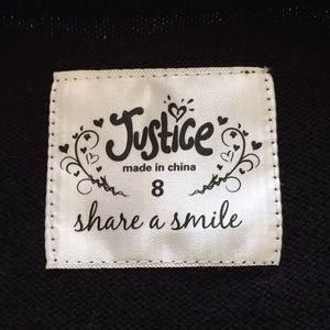 Justice Shirts & Tops - Formal Black Girl's Sweater